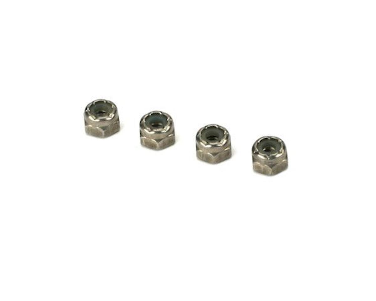 DuBro SS Nylon Lock Nuts,8-32