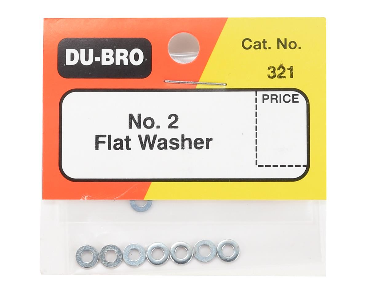 DuBro #2 Flat Washer (8)