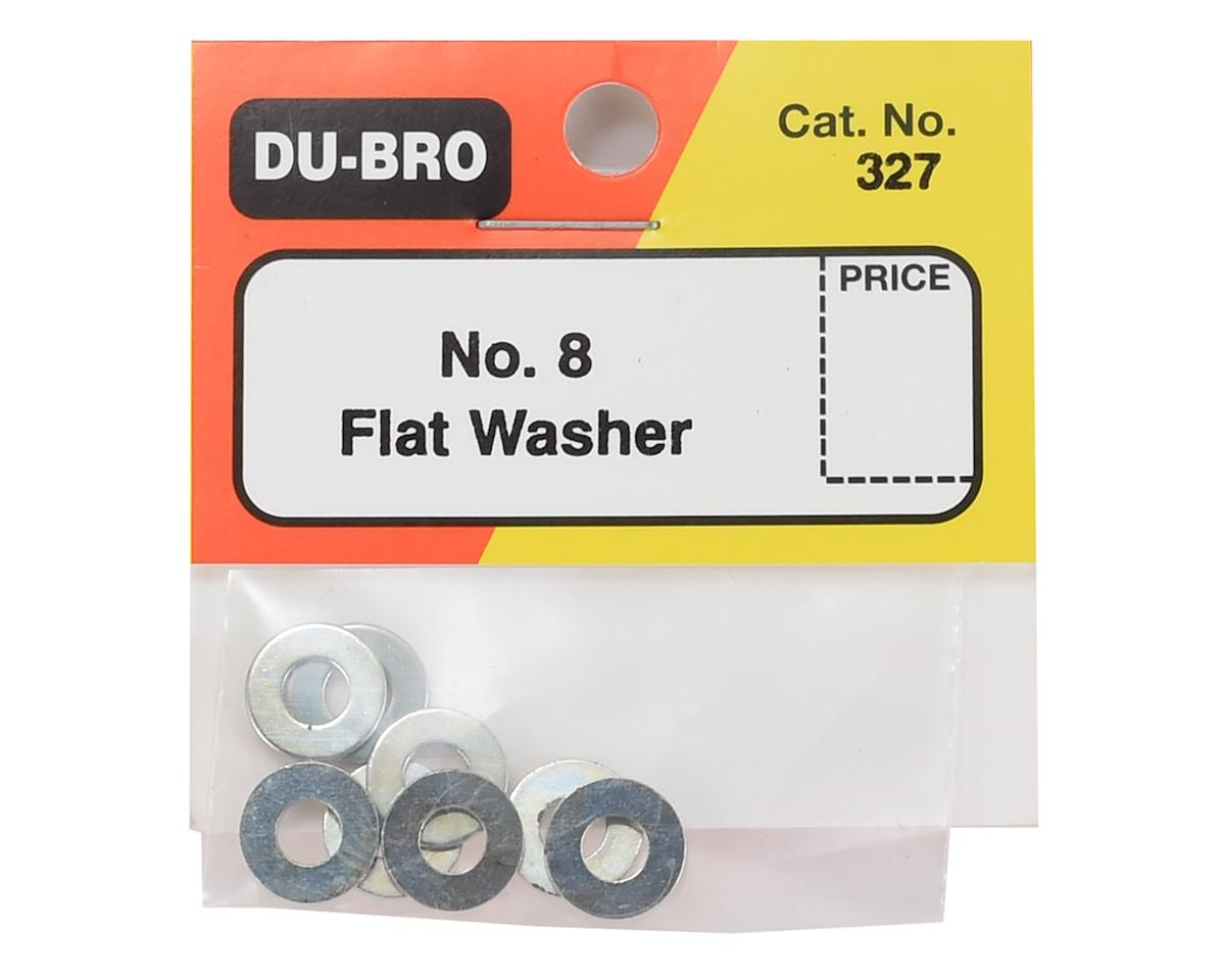 DuBro #8 Flat Washer (8)