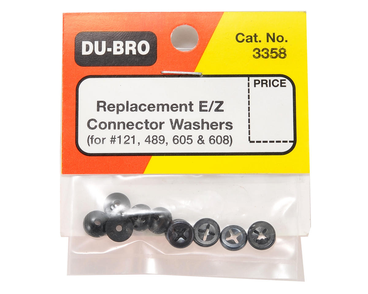 DuBro Replacement E/Z Connector Washer Set