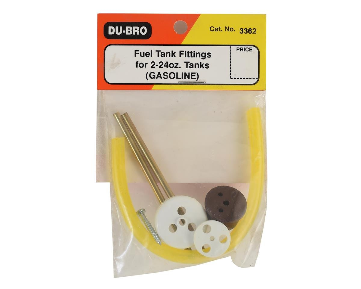 DuBro Replace Fuel Tank Cap & Fitting Set (2-24oz Tank)