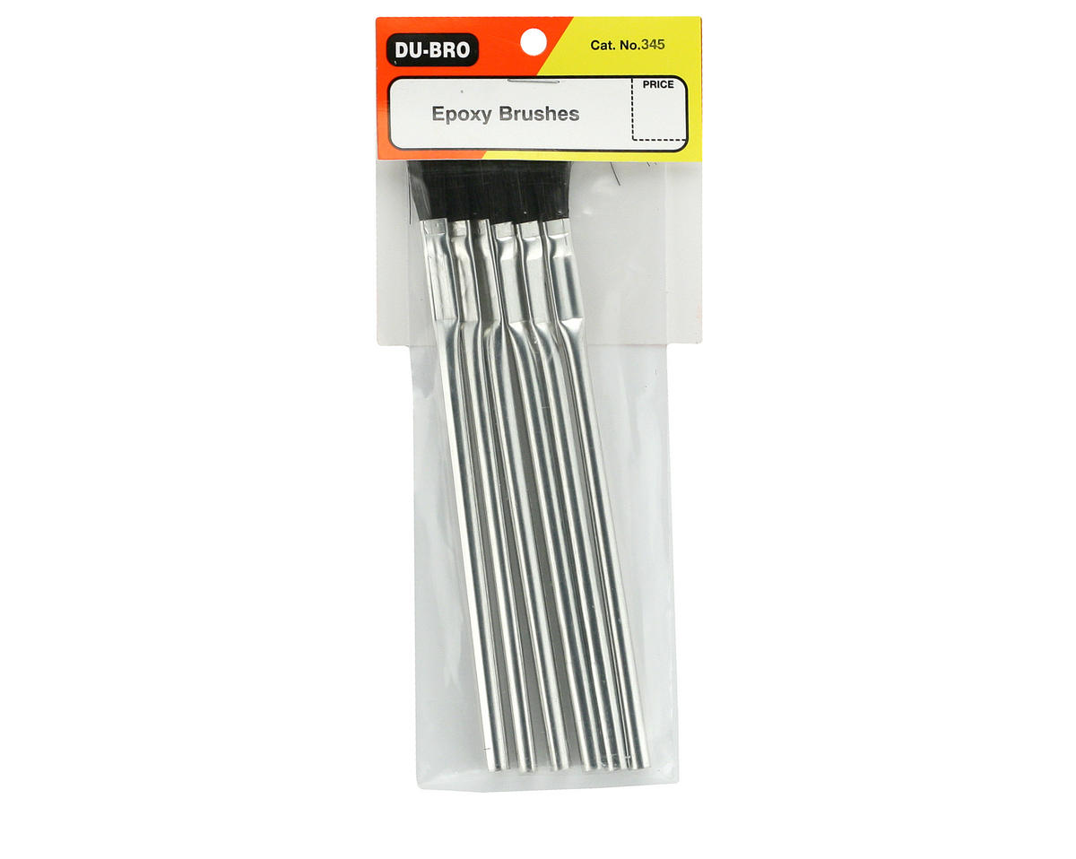 DuBro Epoxy Brushes (6)