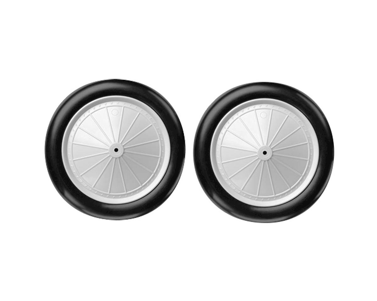 DuBro 1/8 Scale Vintage Wheels (2)