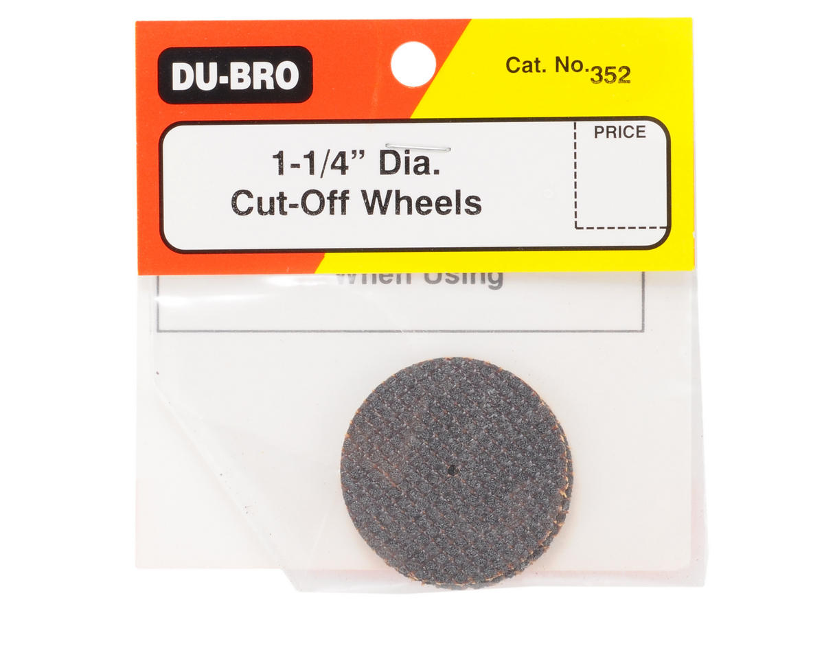 "DuBro 1-1/4"" Cut Off Wheels (2)"