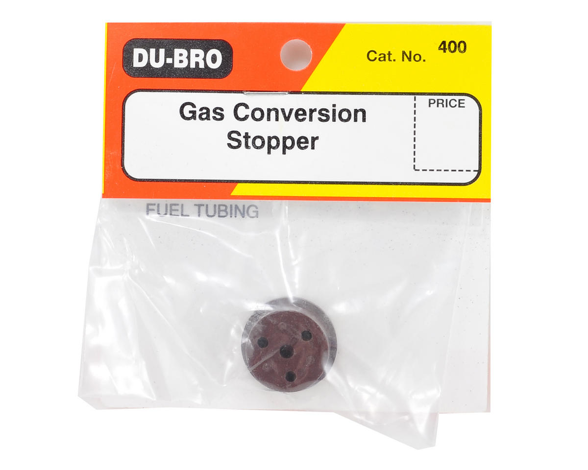 DuBro Gas Conversion Stopper (Brown)