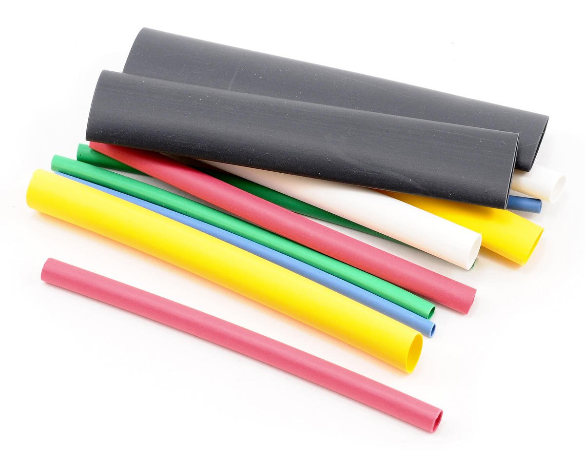Du-Bro Assorted Package Of Heat Shrink Wrap