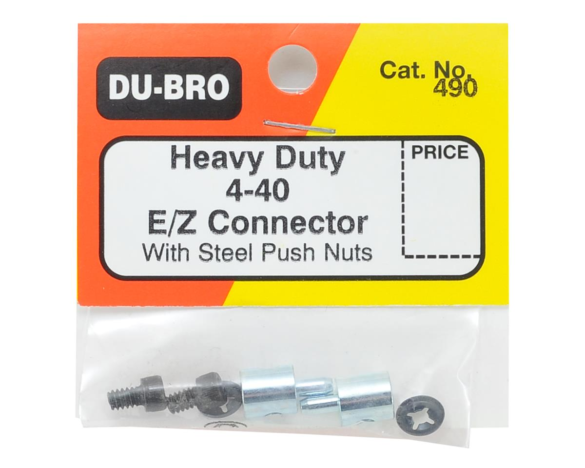 Image 2 for DuBro E/Z Connectors Heavy Duty 4-40