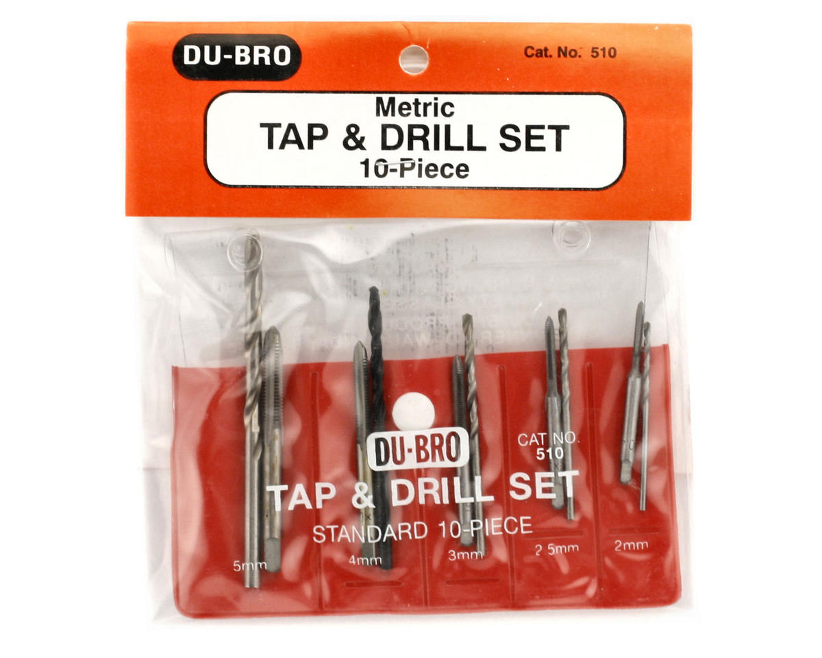 DuBro Complete Tap & Drill Set (Metric)