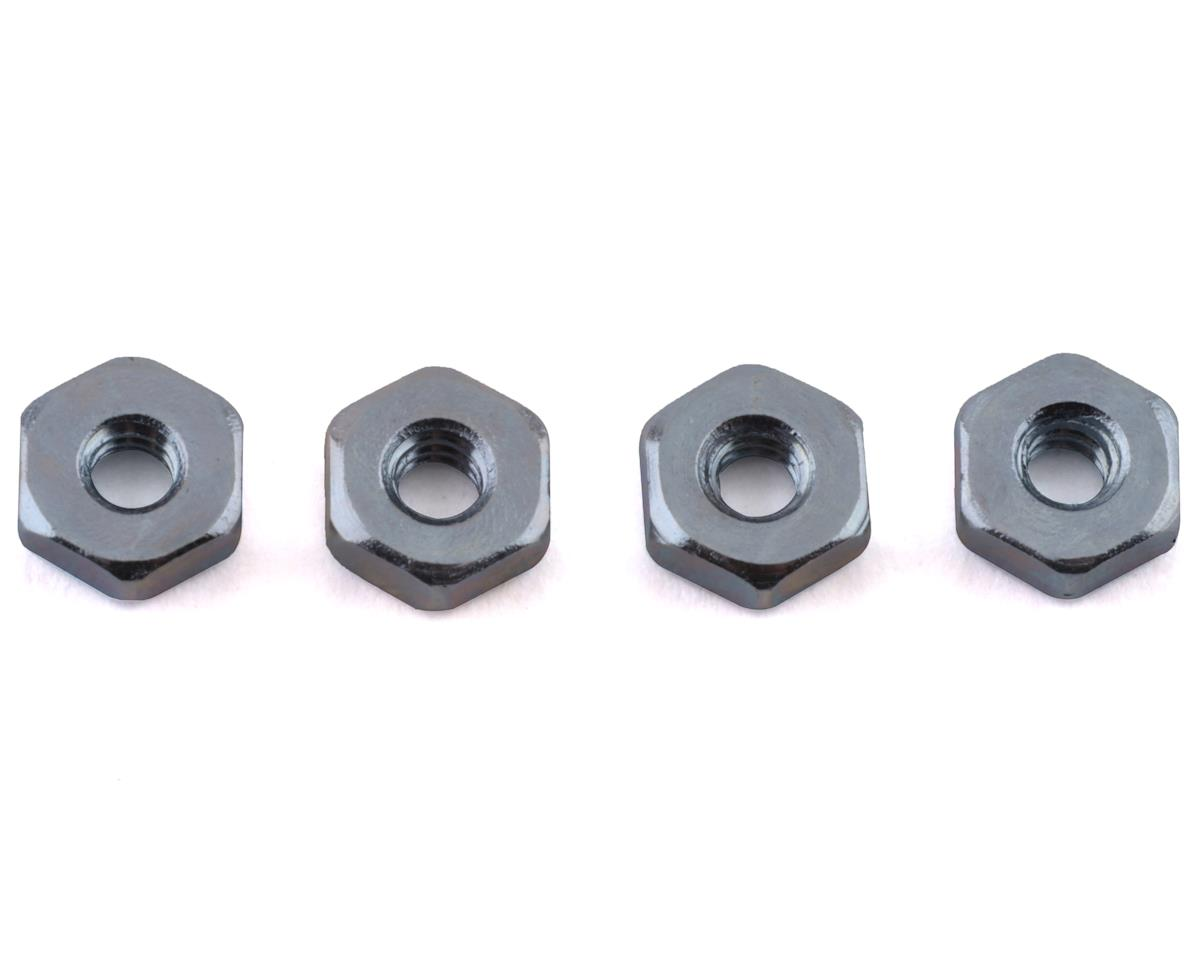 Du-Bro Steel Hex Nuts,4-40