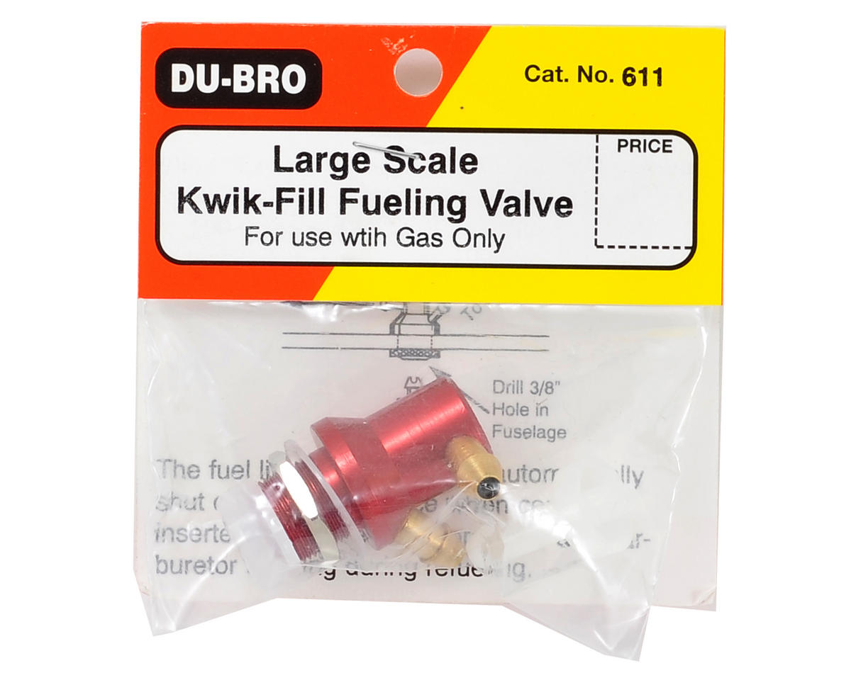 Du-Bro Large Scale Gas Fuel Valve
