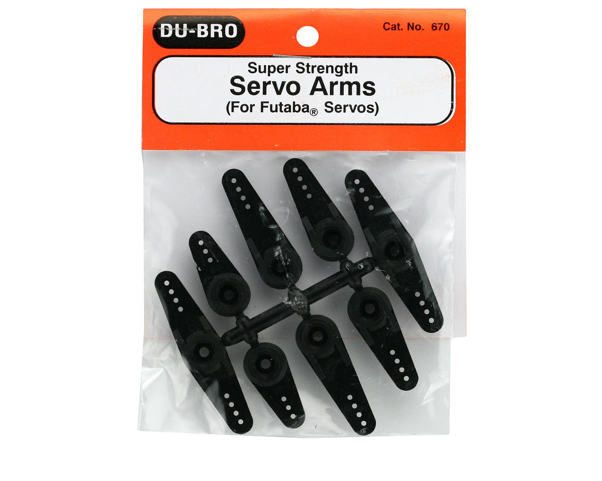 DuBro Super Strength Long Servo Arm (Futaba)