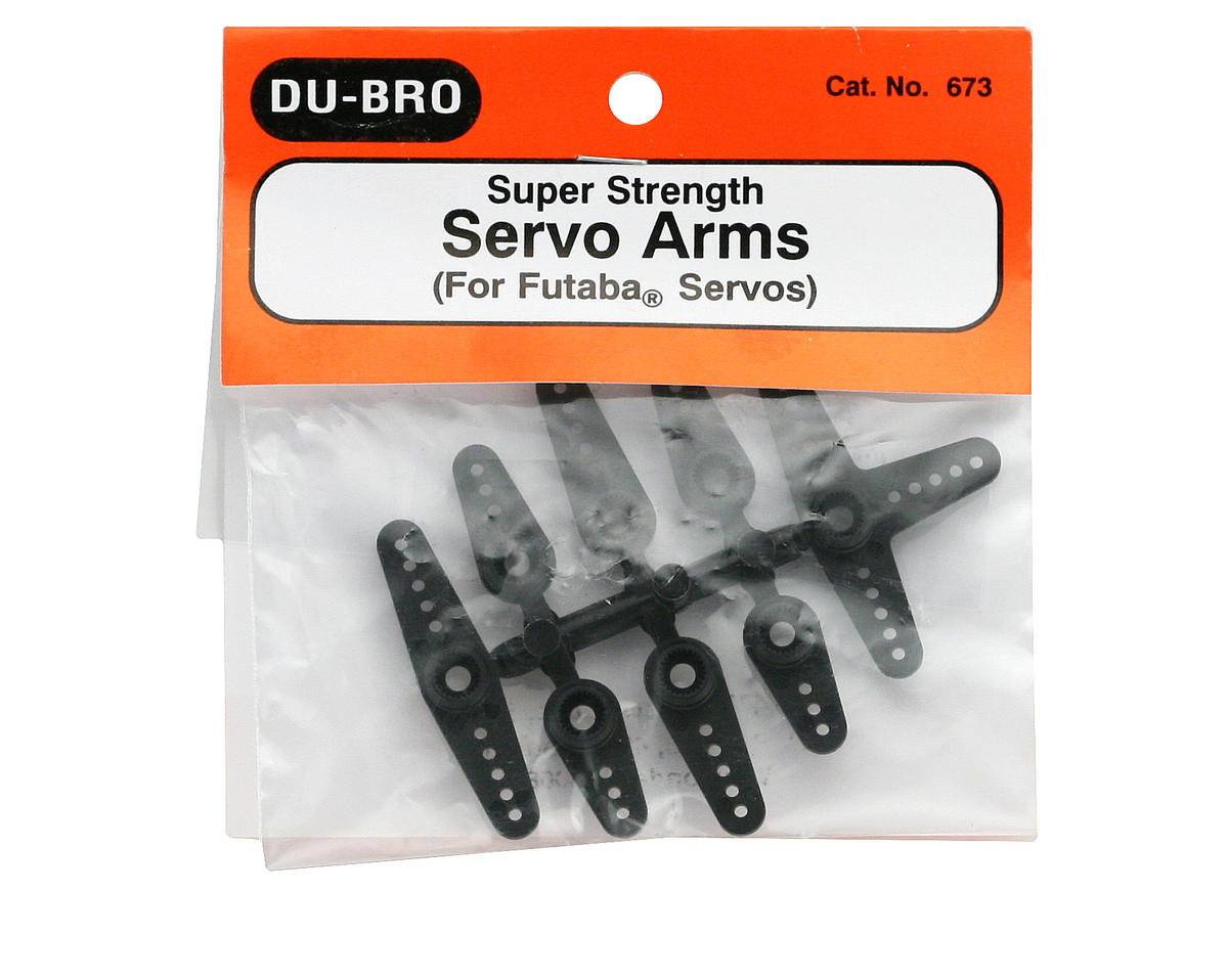 DuBro Super Strength Standard Servo Arms (Futaba)