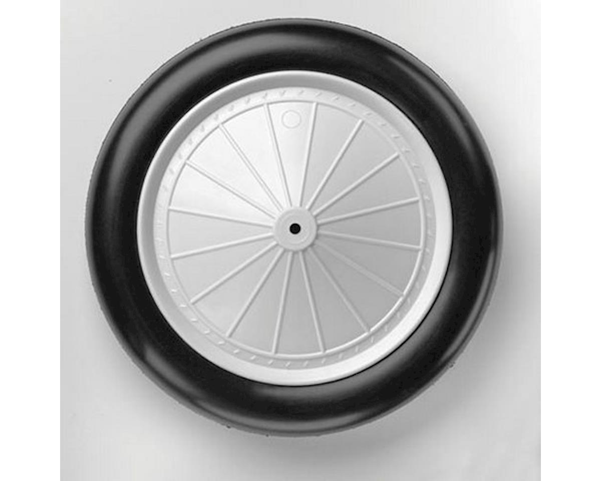 "DuBro 1/4 Scale Vintage Wheels, 7"" (2/pkg)"