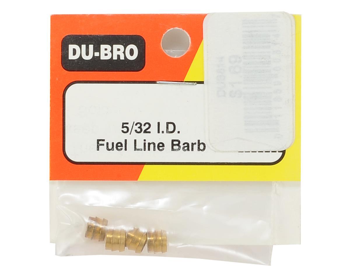 "DuBro 5/32"" Fuel Line Barb (4)"