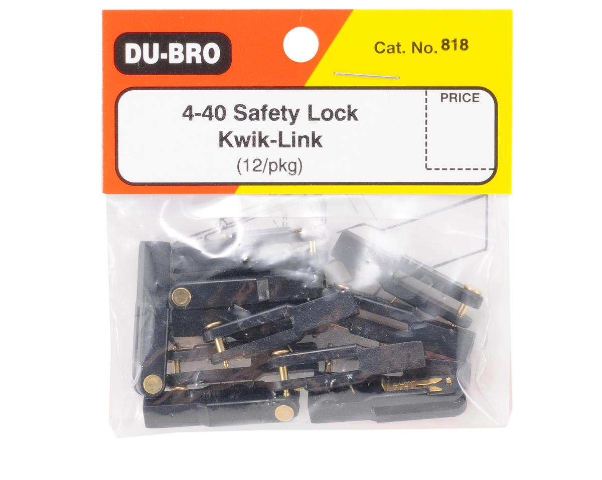 DuBro 4-40 Safety Lock Kwik Link (12)