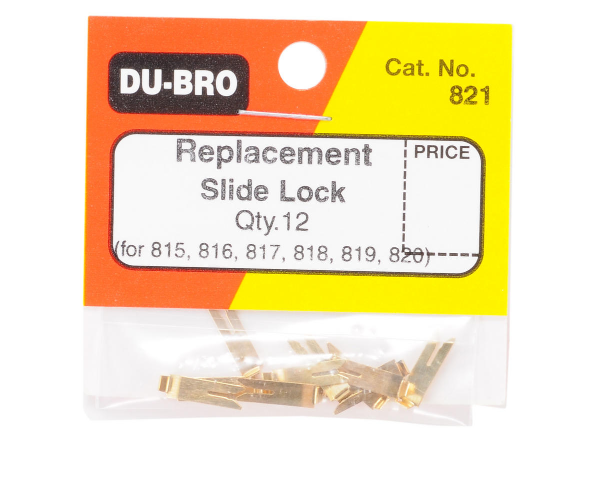 Du-Bro Kwik Link Replacement Slide Lock (12)