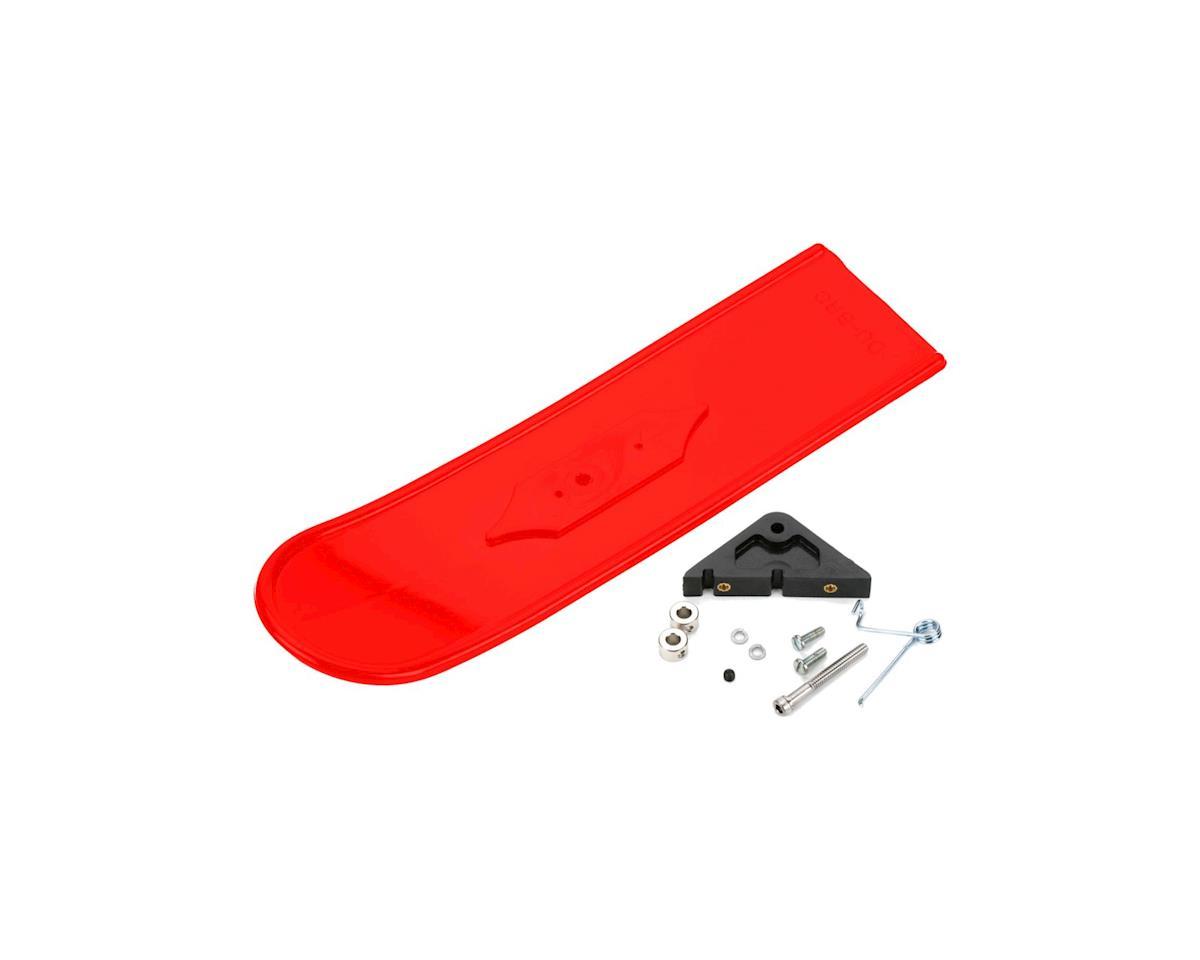 DuBro 826-R Snowbird Snow Skis Nose Red