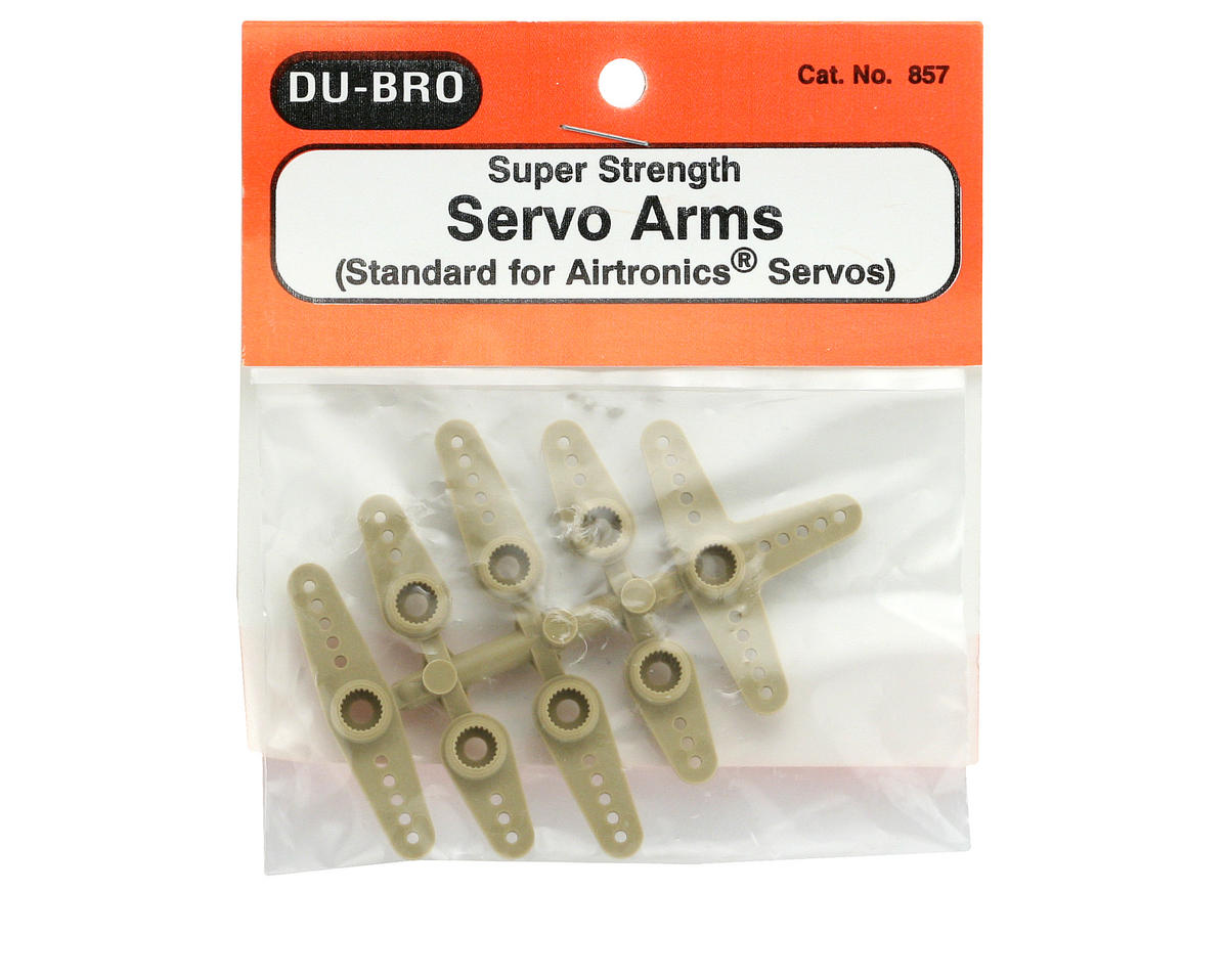 Du-Bro Super Strength Standard Servo Arms (Airtronics)