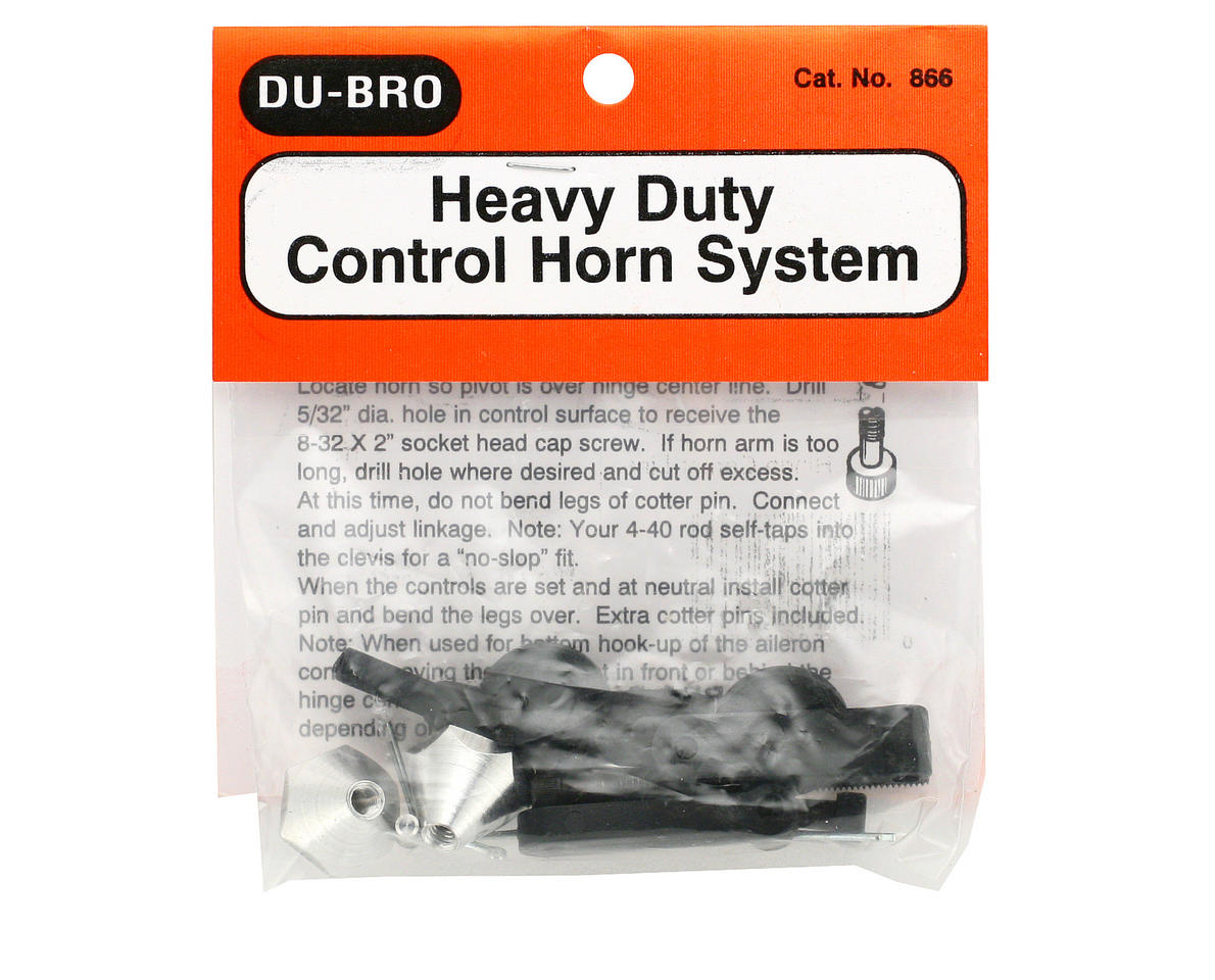 DuBro Heavy Duty Control Horn System (2)