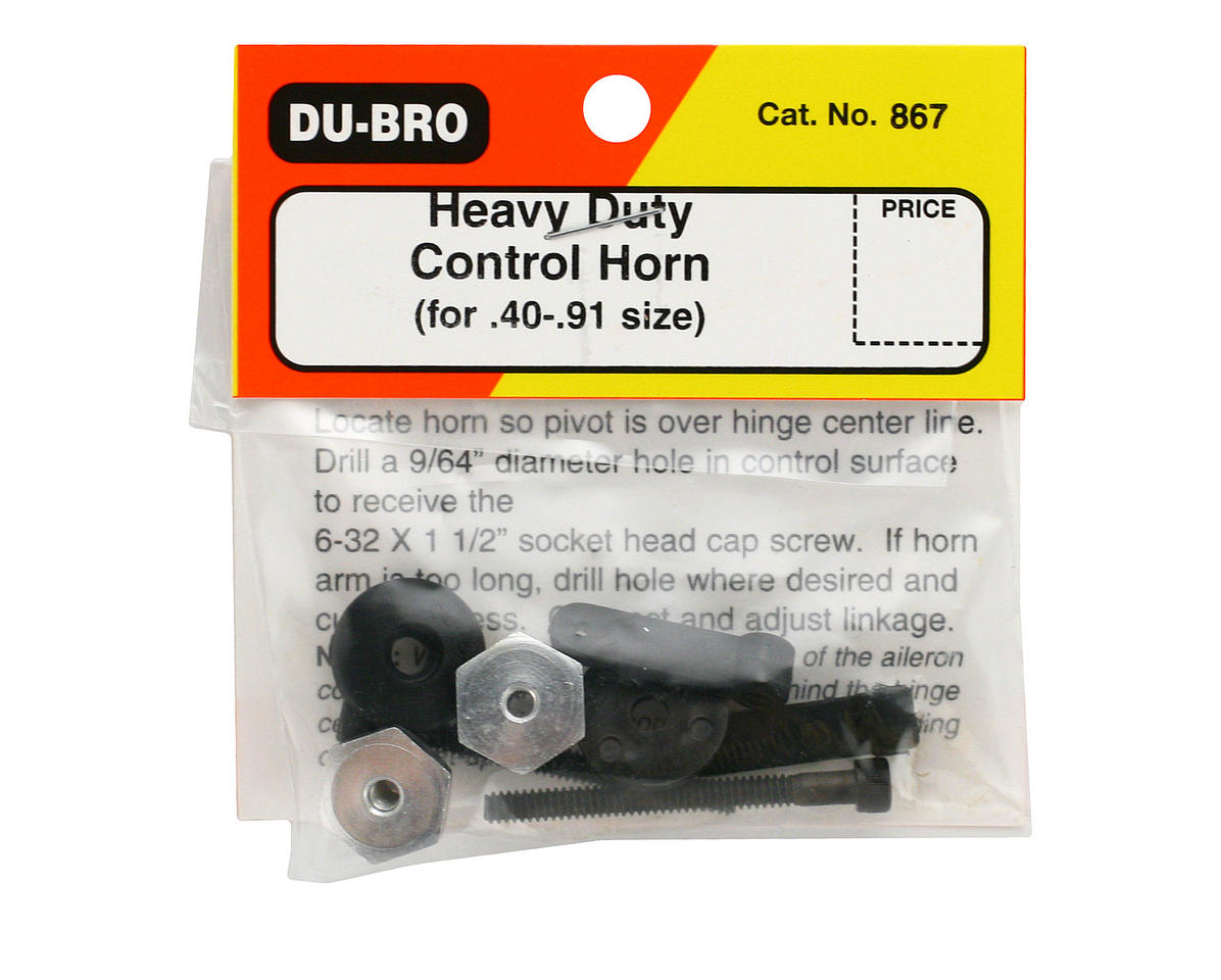 Heavy Duty Control Horn (.40-.91) by DuBro