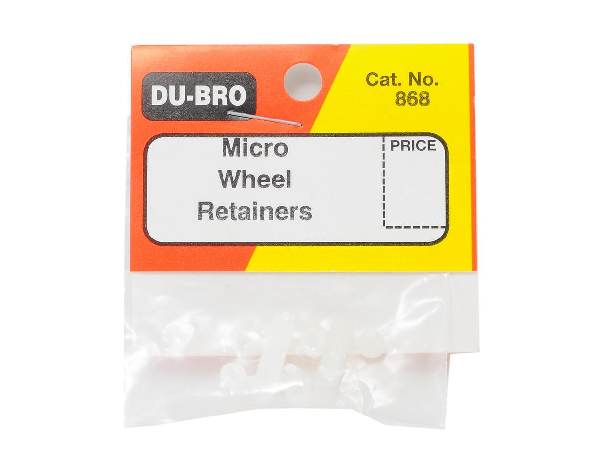 Du-Bro Micro Wheel Retainer (.047) (8)