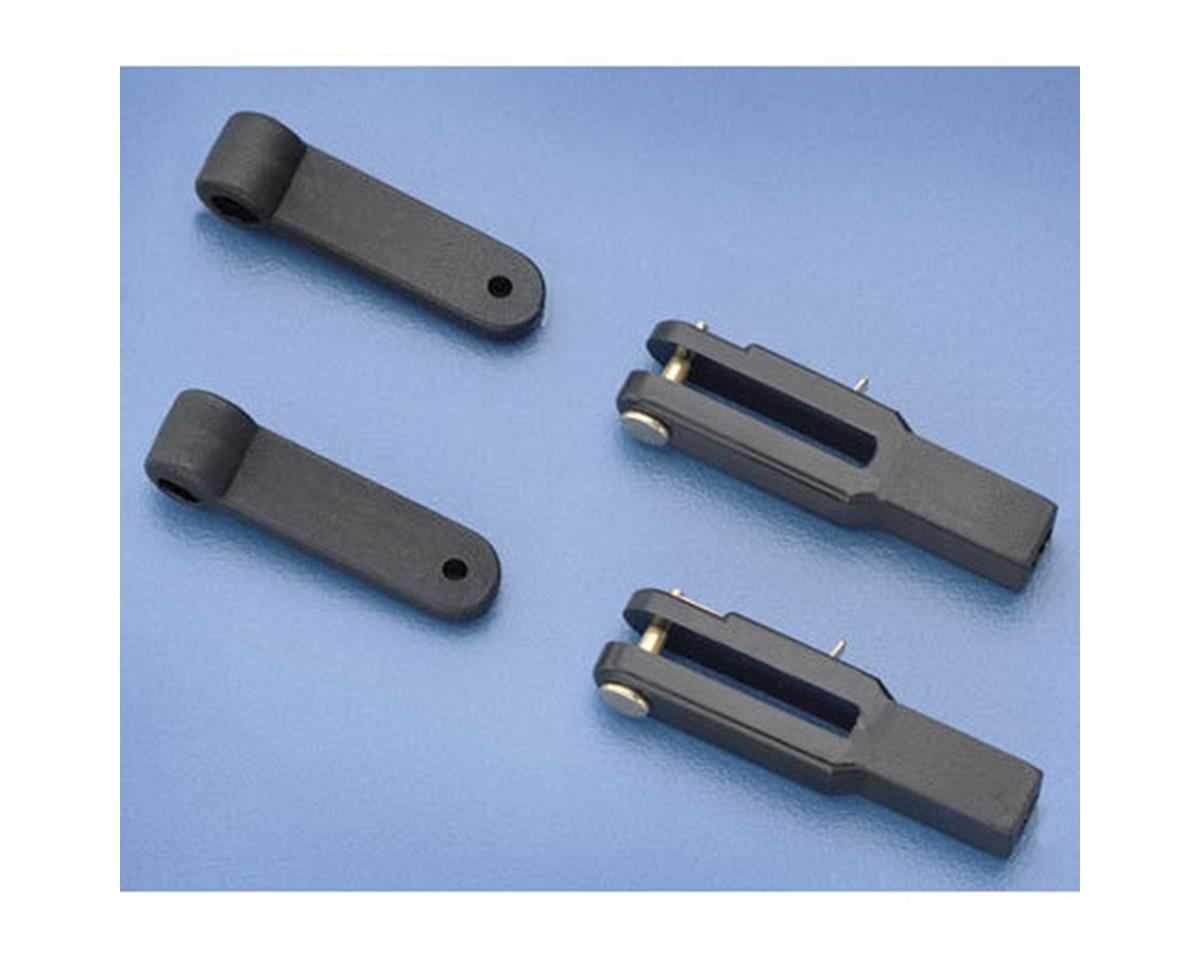 DuBro Heavy-Duty Control Arms & Clevises (.40-.91) (2)
