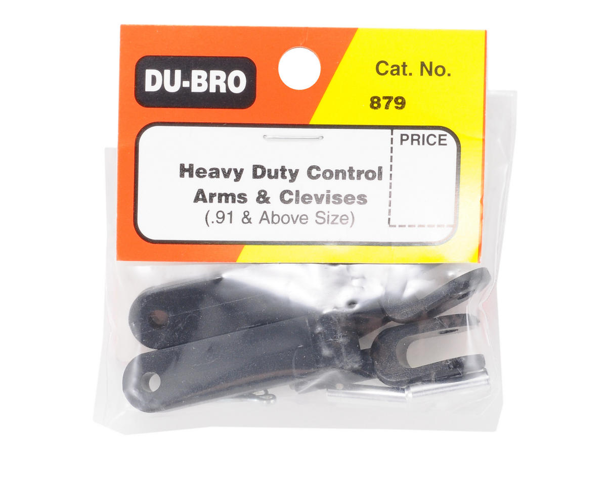 DuBro Heavy-Duty Control Arms & Clevises (.91+) (2)