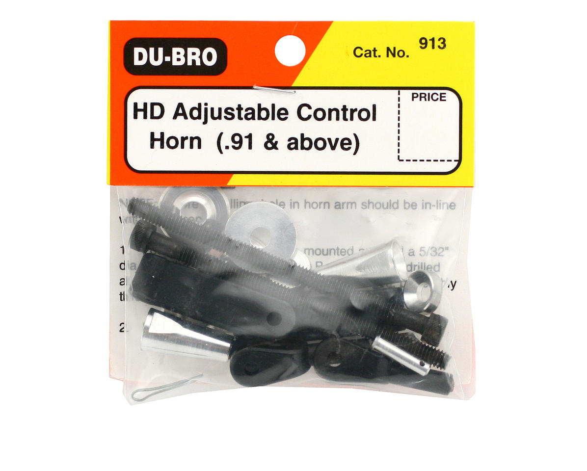 DuBro Heavy Duty Adjustable Control Horns (.91 & Up)