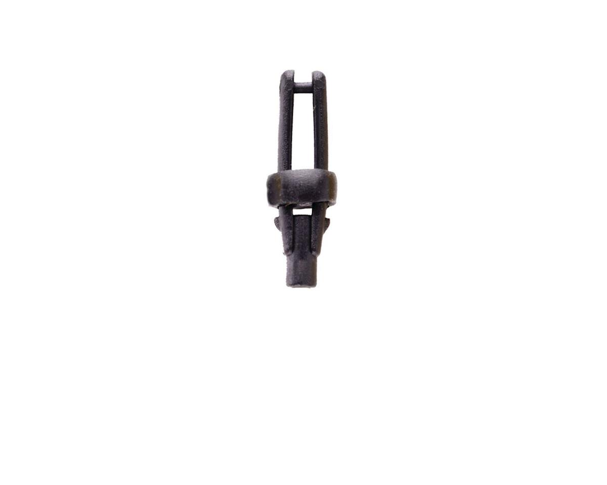 Long Arm Micro Clevis, Black, (.062), 2/pk by DuBro