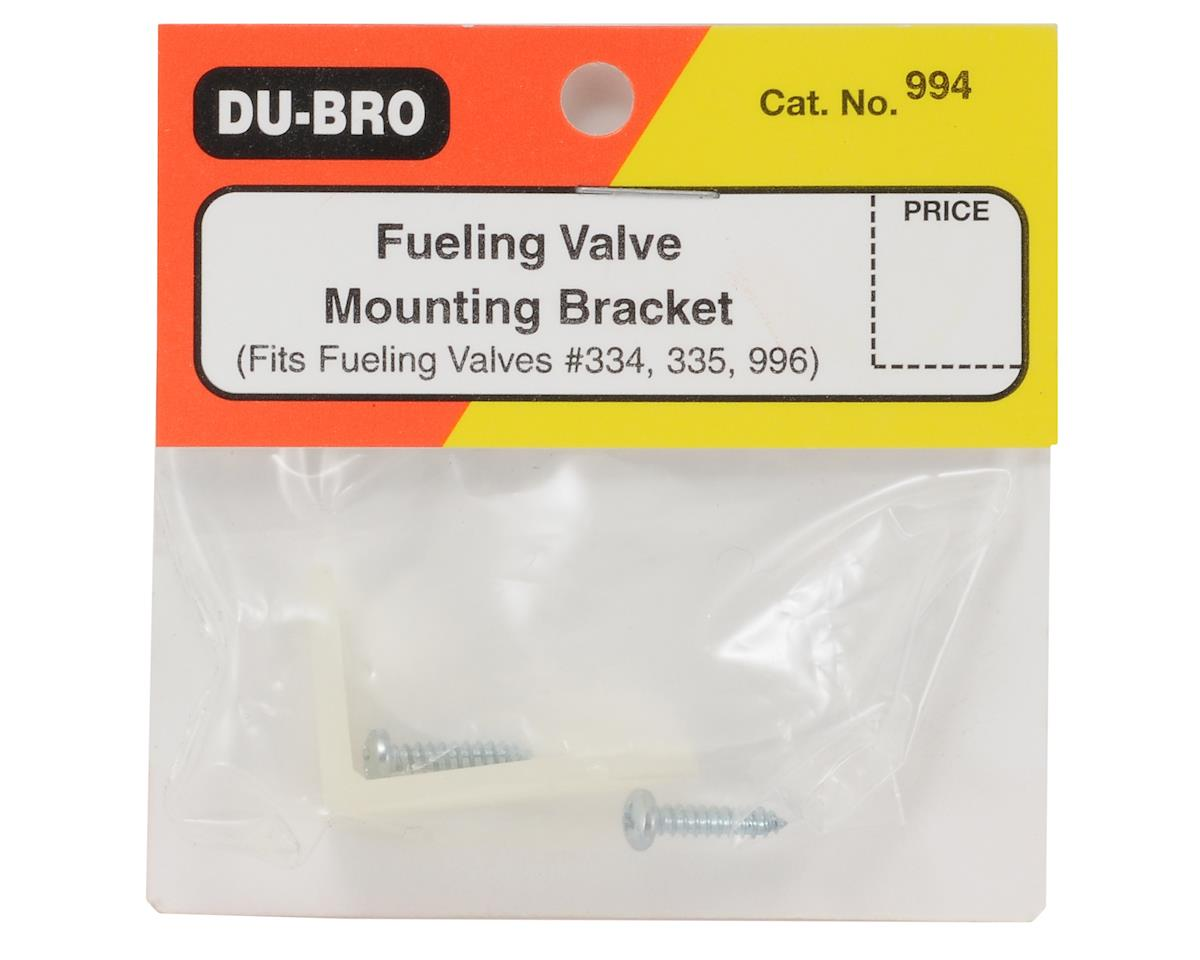 Du-Bro Fueling Valve Mounting Bracket