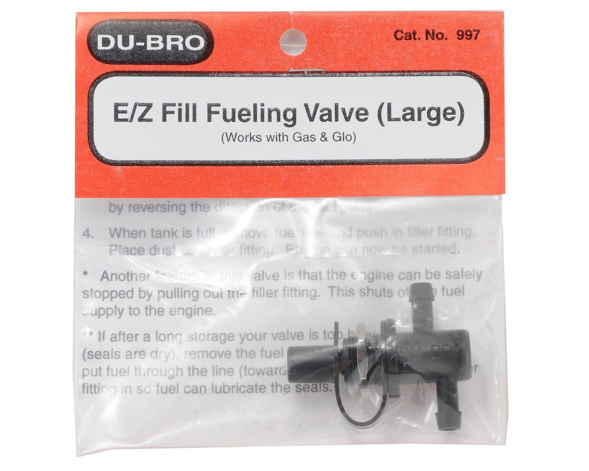 DuBro Large E/Z Fill Fueling Valve (Gas/Glow)