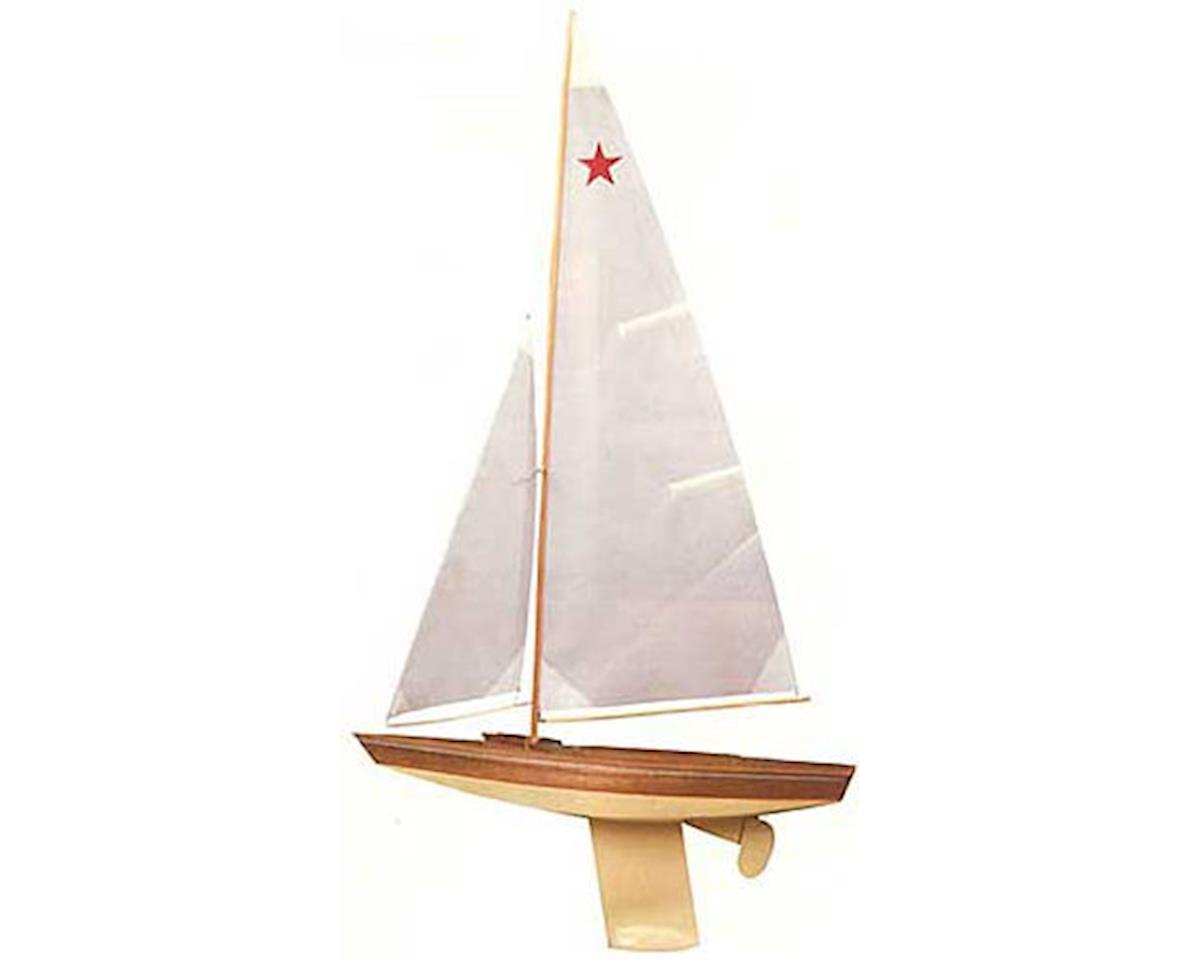 "Dumas Boats 1121 Star Class Sailboat 30"" Kit"