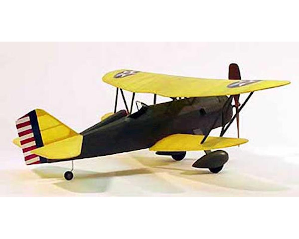 "Curtiss P6E Hawk,17.5"" Rubber Power by Dumas Boats"