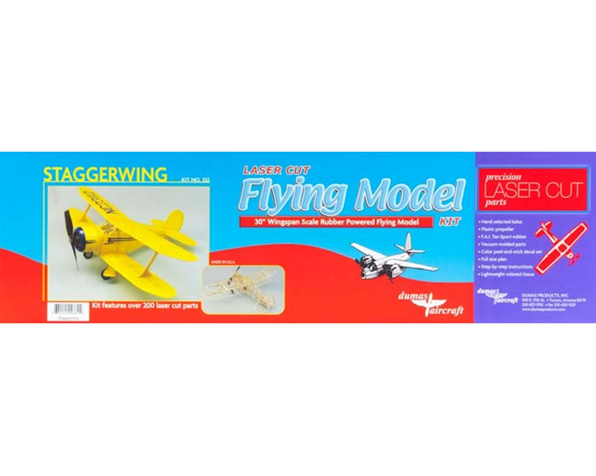 "Dumas Boats 30"" Staggerwing Aircraft Kit"