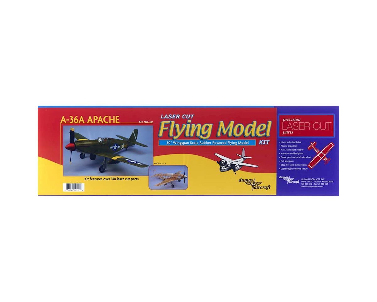 "Dumas Boats 337 A-36A Apache 30"" Rubber Band Powered"