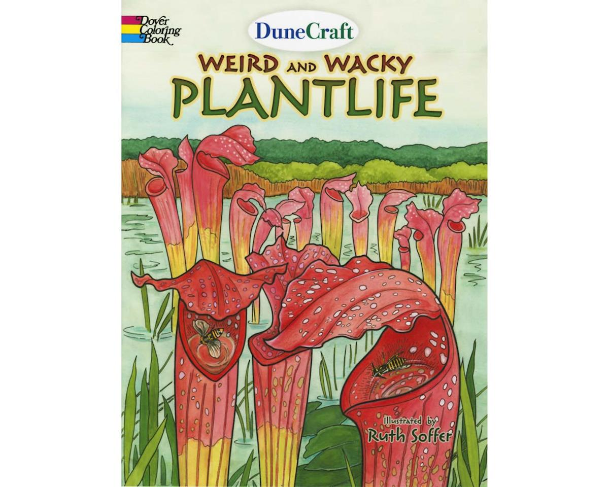 CB-0394 Weird and Wacky Plantlife Coloring Book
