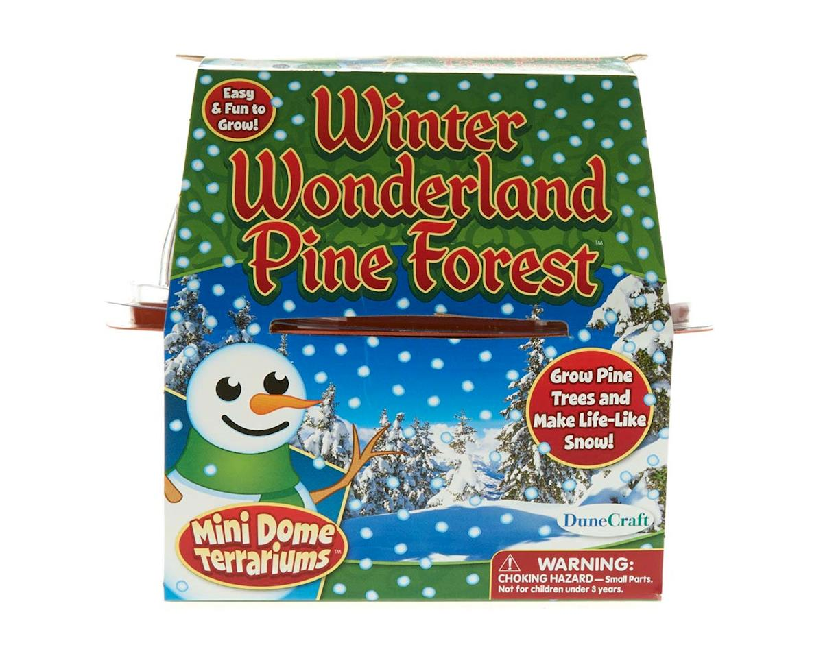 MD-0792 Winter Wonderland Pine Forest by Dunecraft