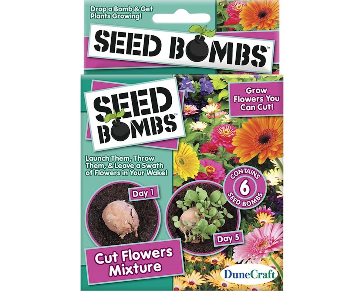 Dunecraft SE-0464 Cut Flowers Mixture Seed Bomb