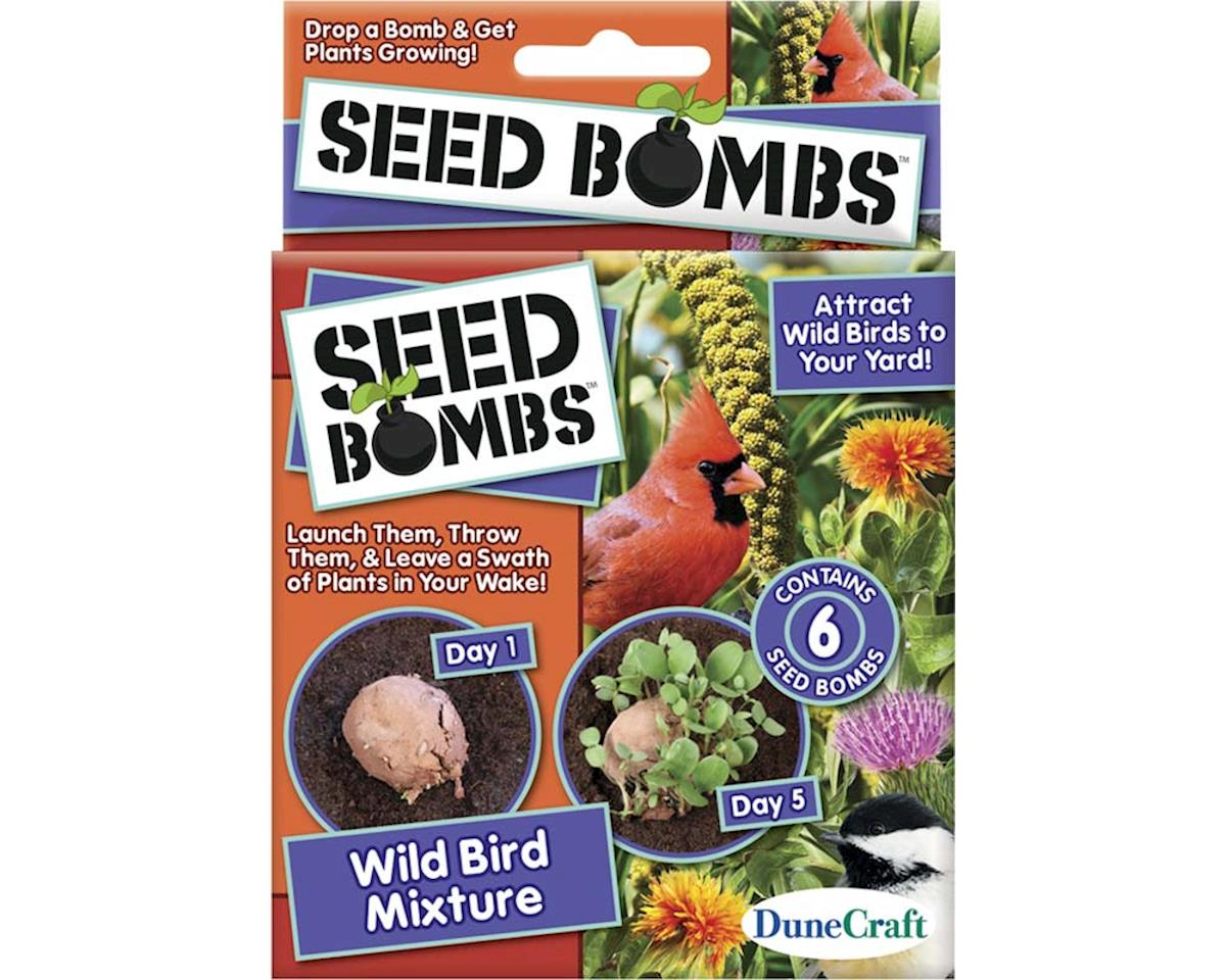 SE-0468 Wild Bird Mixture Seed Bomb by Dunecraft