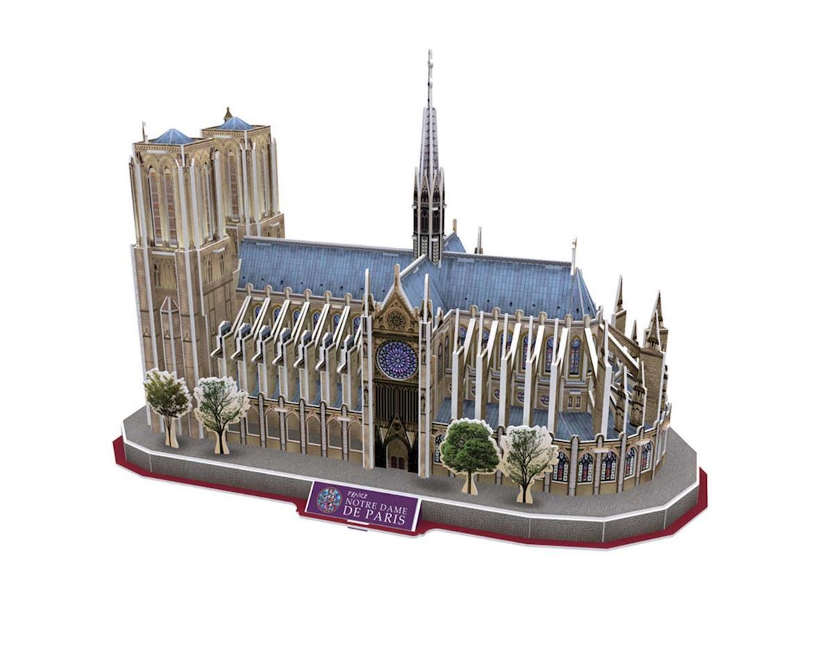 Daron Worldwide Trading 054H 3D Notre Dame De Paris 128pc Puzzle