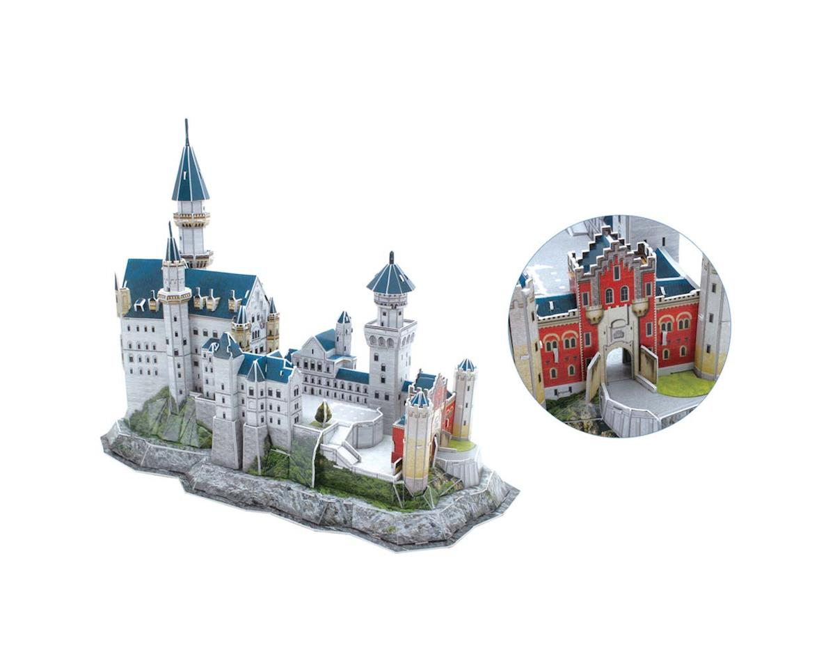0602H 3D Neuschwanstein Castle 121pc Puzzle by Daron Worldwide Trading