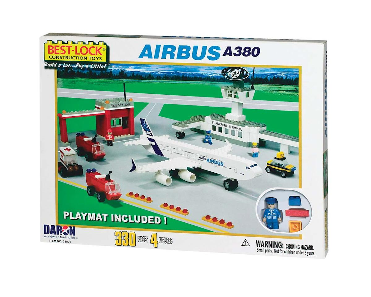 Daron Worldwide Trading 33021 Airbus A380 Airport Set w/4 Figures 330pcs