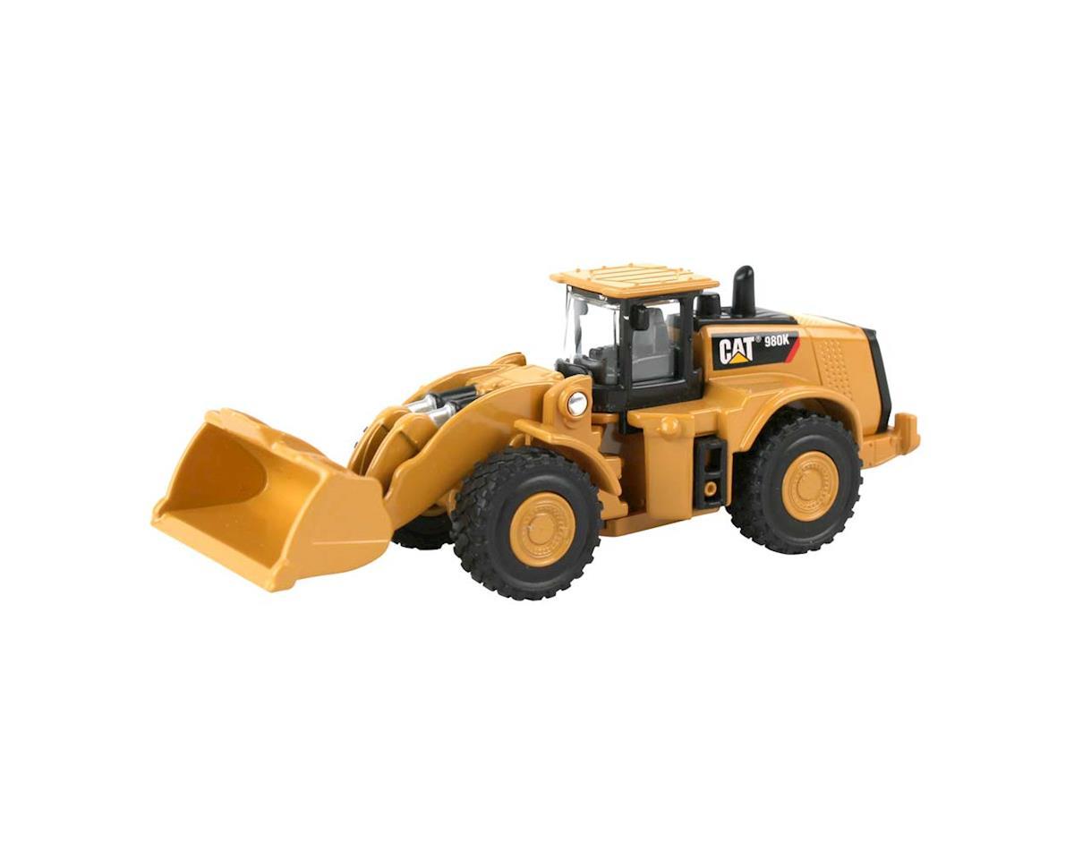 Daron Worldwide Trading 39513 1/94 CAT 980K Wheel Loader