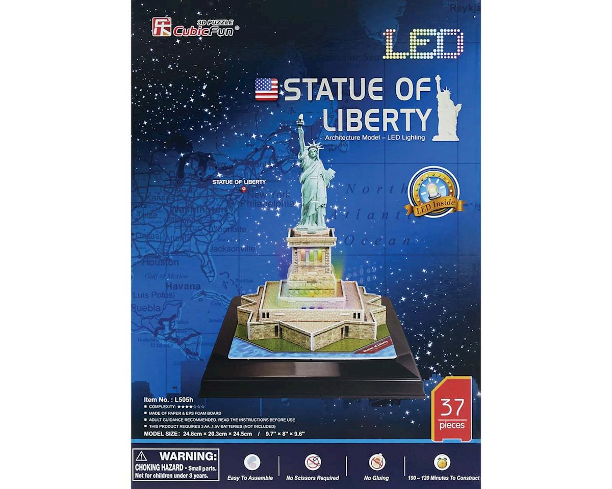 Daron Worldwide Trading 505H 3D LED Statue of Liberty 37pc Puzzle
