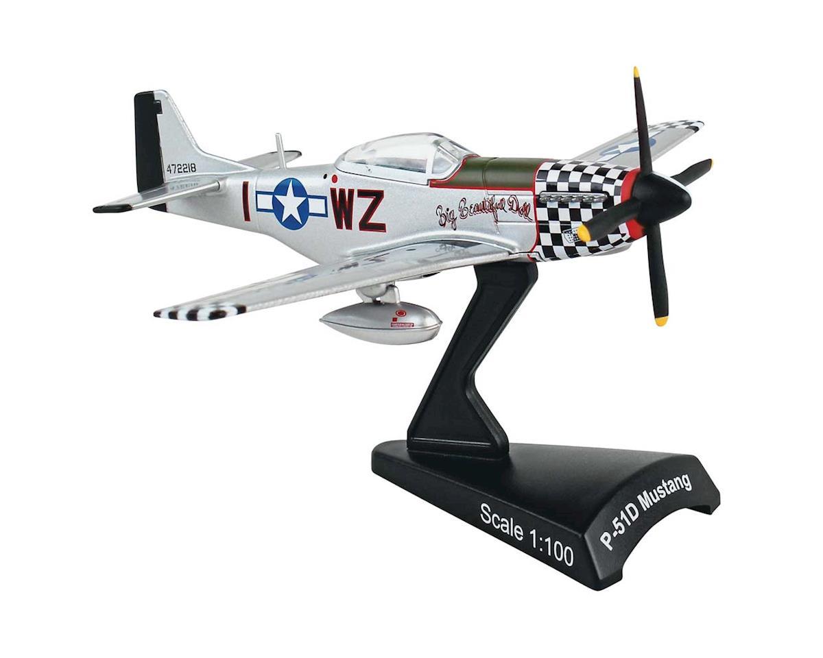 Daron Worldwide Trading 5342-8 1/100 P-51D Mustang Big Beautiful Doll