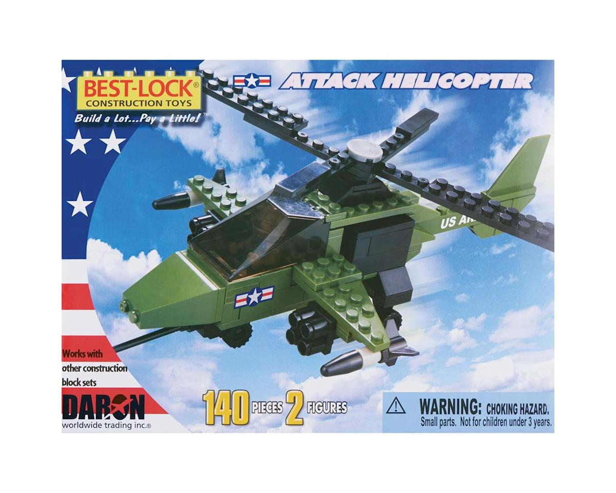 Attack Helicopter w/2 Figures 140pcs