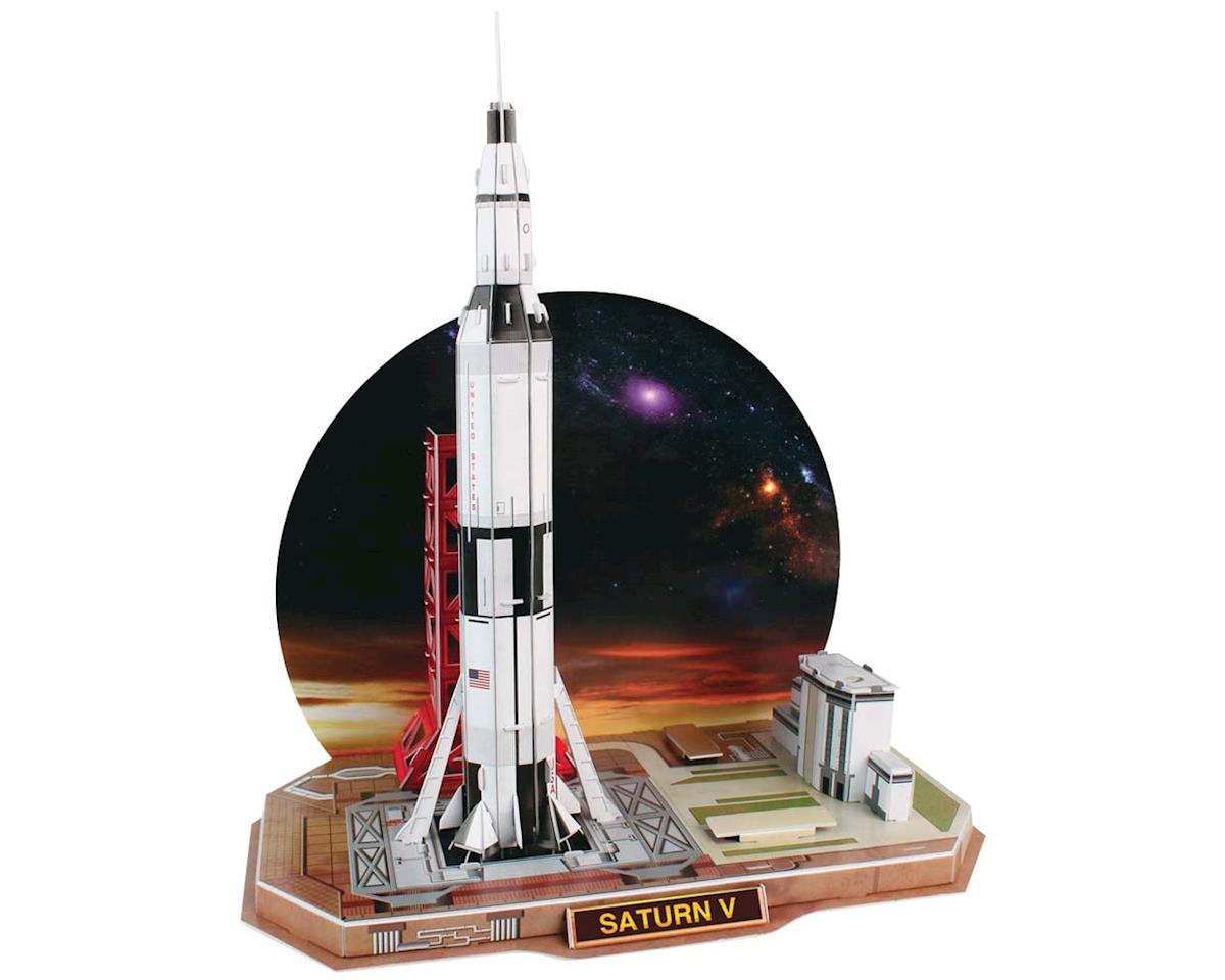 653H Saturn V Rocket 3D 68pcs