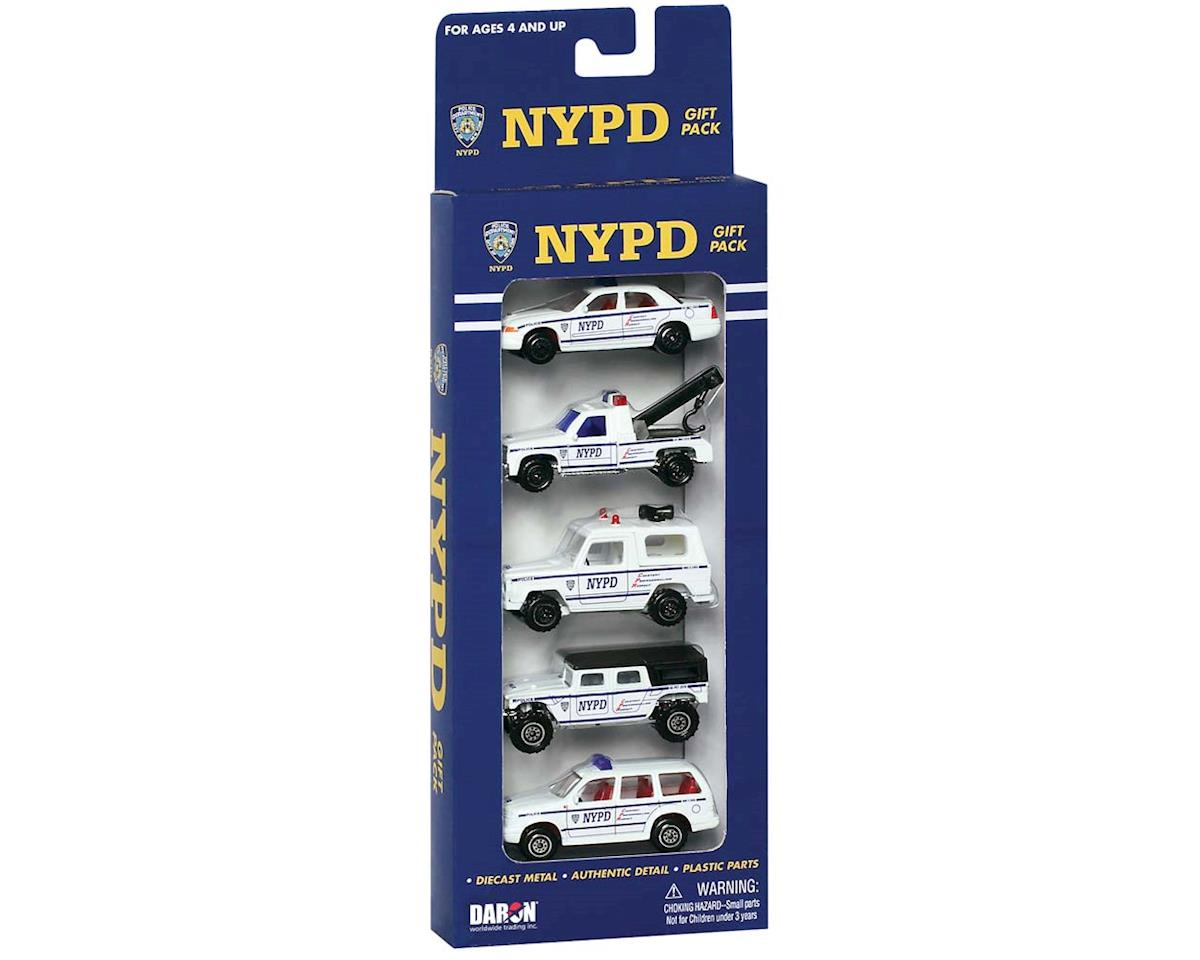 Daron Worldwide Trading 8610 NYPD 5-Piece Vehicle Set (5)