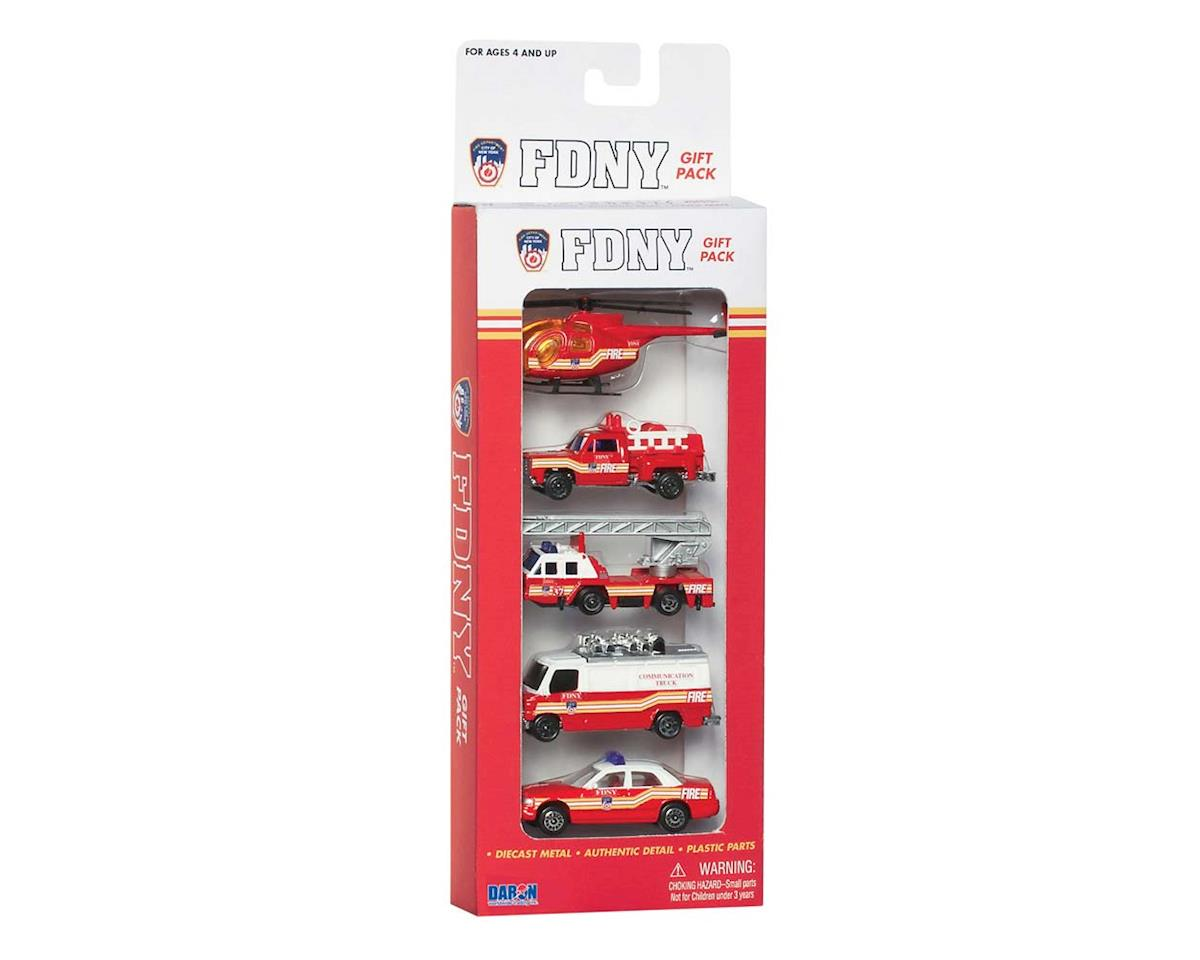 Daron Worldwide Trading 8750 FDNY 5-Piece Vehicle Set (5)