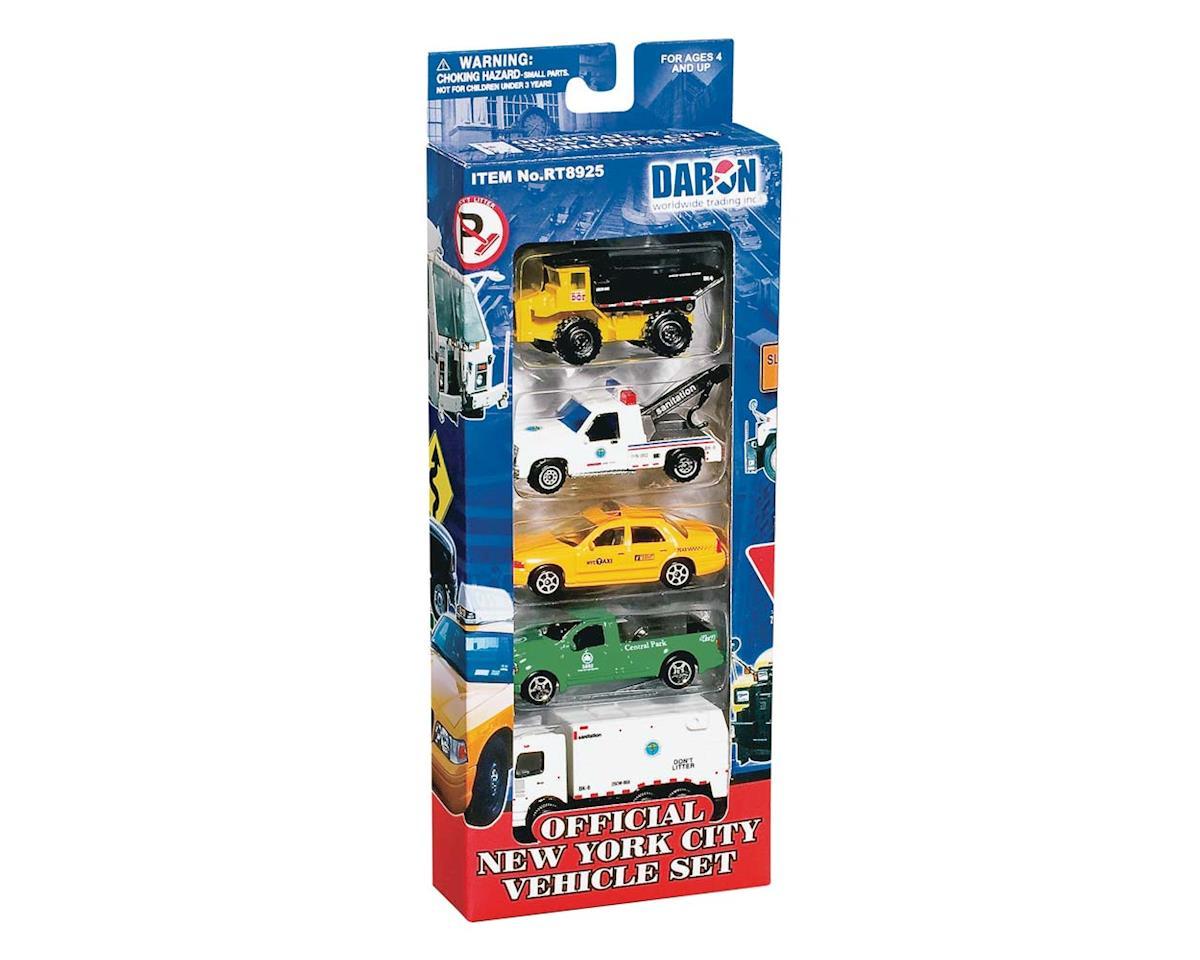 Daron Worldwide Trading 8925 New York City Vehicle Set (5)